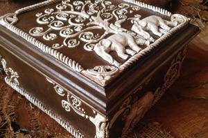 Имитация слоновой кости двумя способами