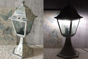 Декор фонаря для кухни
