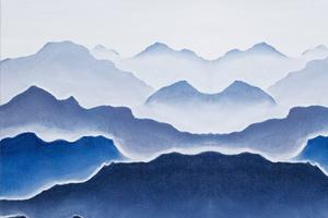 Горы — пейзаж для начинающих. Серия: интерьерные картины