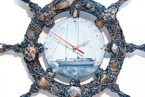 Декупаж часов своими рукам. Воспоминание о море. Мастер-класс с пошаговыми фото