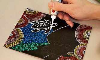 украшение точечная роспись своими руками