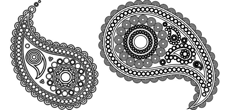 Орнамент огурцы схемы