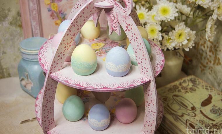 Подставки для пасхальных яиц сделать своими руками