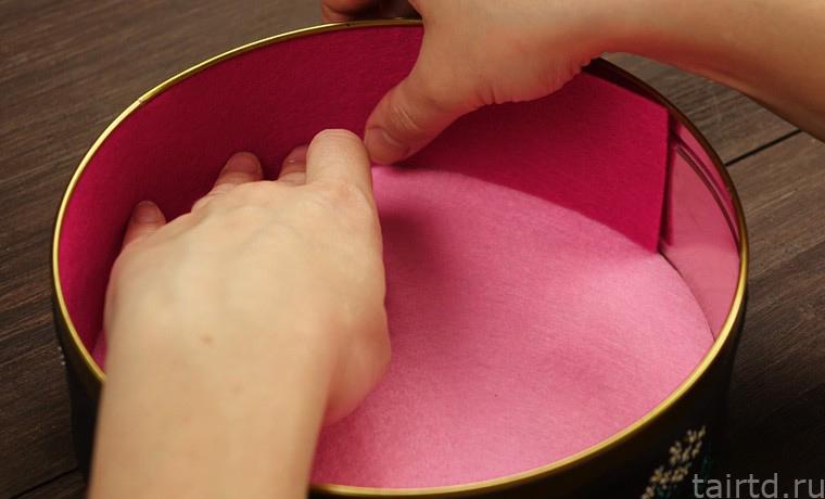 Имитация вышивки акриловыми контурами