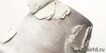 Кашпо. Декорирование акриловой рельефной пастой.
