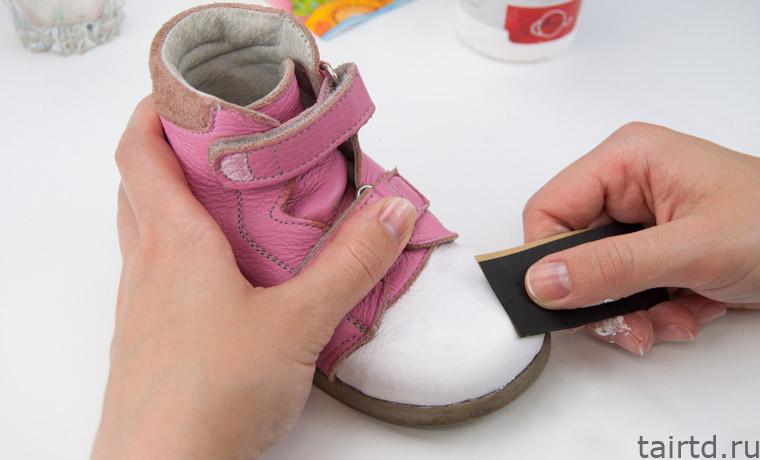 Реставрация детской обуви своими руками декупаж 52