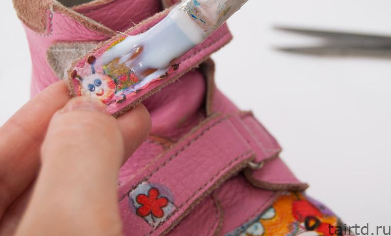 Реставрация детской обуви своими руками декупаж 74
