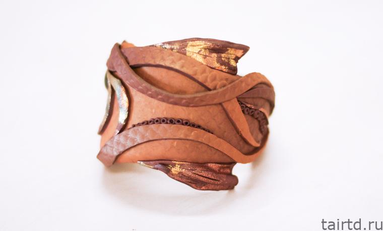 Мастер-класс «Браслетиз полимерной глины».