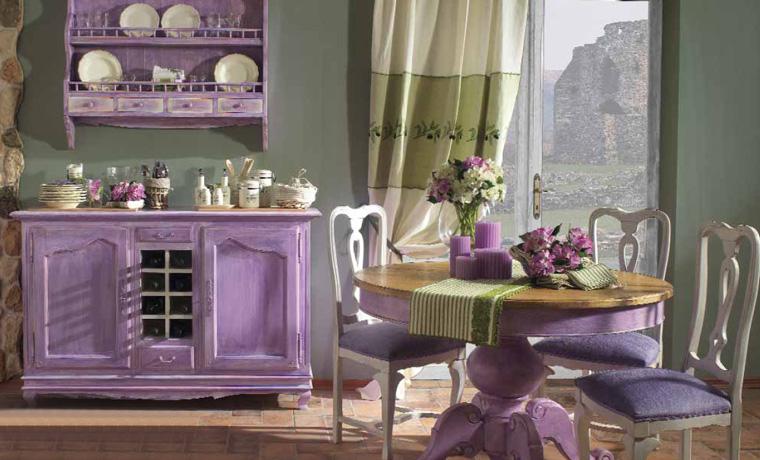 Декупаж мебели в стиле Прованс