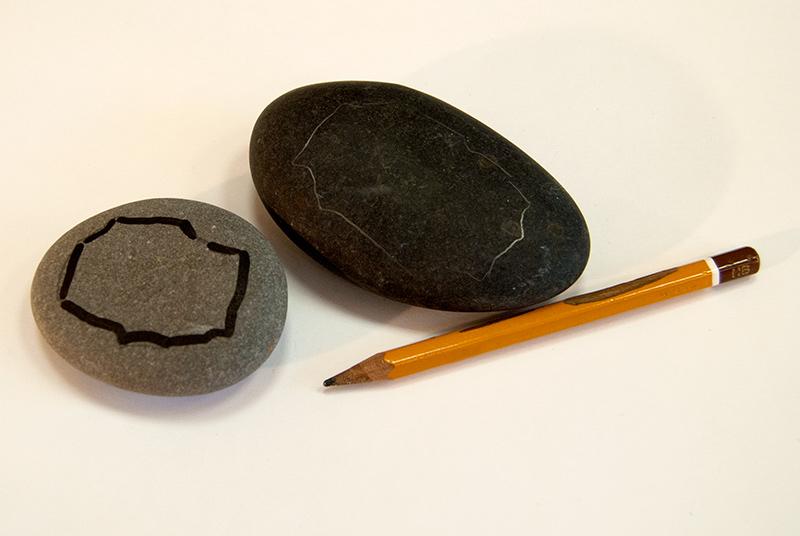 Роспись камней акриловыми красками. Рисунки на камнях.
