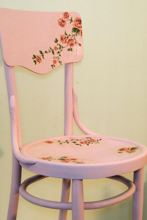 Декупаж стульев для начинающих пошагово 37