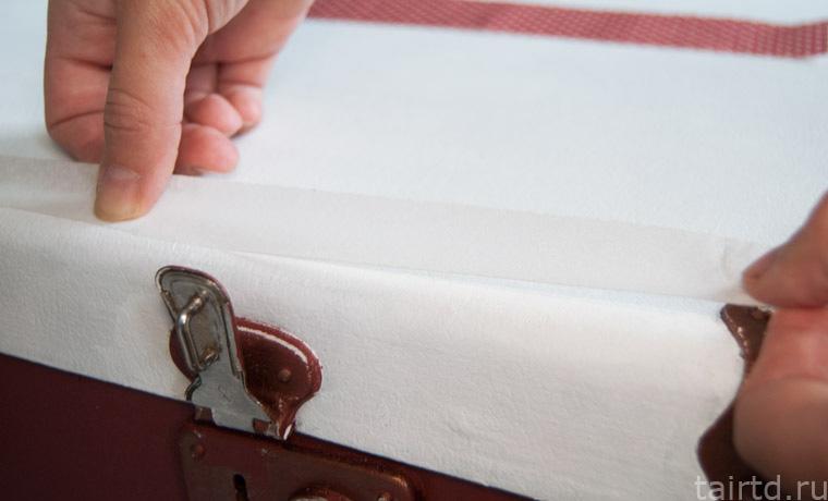 Декупаж чемодана