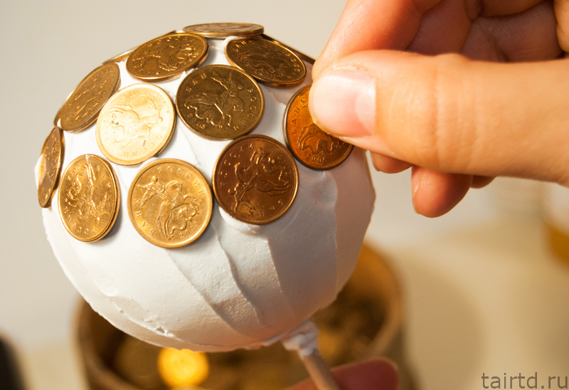 Монеты на удачу своими руками 736